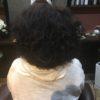 難しい髪質をクセを活かしてパーマ風にカット