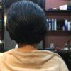 梳くとまとまらない髪質は一切梳きません
