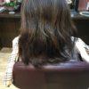乾燥してボリュームが出やすい髪をまとめやすくする