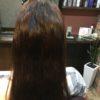 頭の部位によって髪質が違う方がいるのでストレートパーマは難しいです
