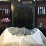 硬毛、直毛のお客様を柔らかく見せる