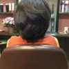 辺見えみりさんのショートヘアオーダーが多いです