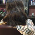 レイヤーカットでも髪質によっては梳かなくても軽さはでます