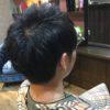 立ちやすい髪質もドライヤーで乾かすだけでまとめる