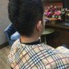 メンズベリーショート、ウェディングヘア