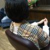 梳いても表面を梳かなければツヤは残ります、バランスが重要ですけどね(笑)