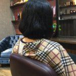 ヘッドスパのついでに前髪カットで一石二鳥