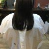 髪質によって梳き方を変えます