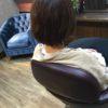 骨格的に髪が膨らむ方は中を梳き過ぎると余計膨らみが目立つ