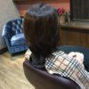 髪を伸ばしている際は気になるところを先回りしてカットしていきます