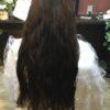 髪が固く膨らむ髪質に表面だけ縮毛矯正