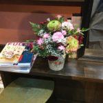 お花交換の日です