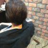 前髪だけの縮毛矯正でいつもより短く