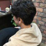直毛の方のさわやか系ナチュラルパーマ
