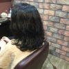 剛毛、直毛の方ほどパーマは緩くかけます