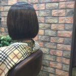 前髪の根元の生え癖は縮毛矯正しても矯正はできません