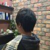 男性の縮毛矯正、前髪部分だけのお客様が多いです