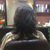 トップのボリュームが出て見えるようにするには前髪のバランスとひし形シルエット