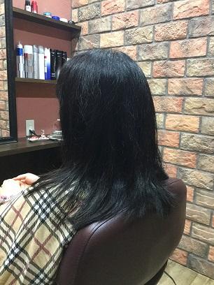 直毛で動きを出すには長さ設定が大事