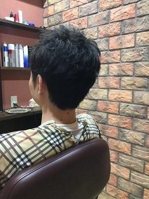 髪にクセがある方でも乾かすだけでまとめます