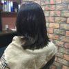 5か月ぶりのご来店、気になったのは前髪くらい