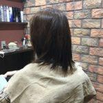 矯正毛は根本の本来の髪と馴染ませるのが大変です